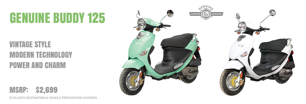 2018 Genuine Buddy 125