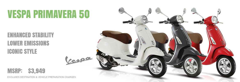 2019 Vespa Primavera 50