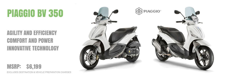 2016 Piaggio BV 350