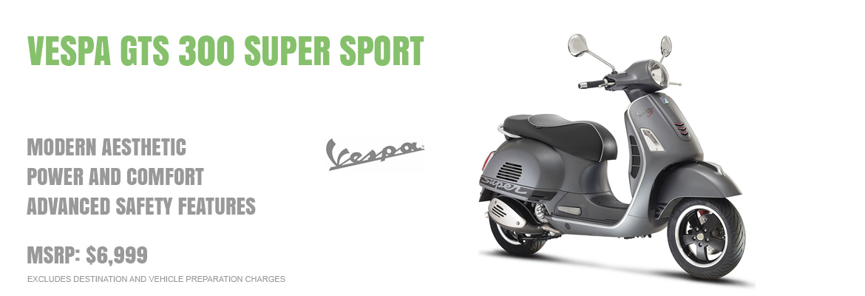 2017 Vespa GTS 300 Super Sport IE