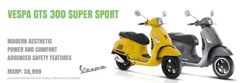2018 Vespa GTS 300 Super Sport IE
