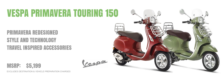 2018 Vespa Primavera Touring 150 IE