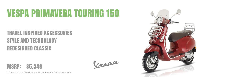 2019 Vespa Primavera Touring 150 IE