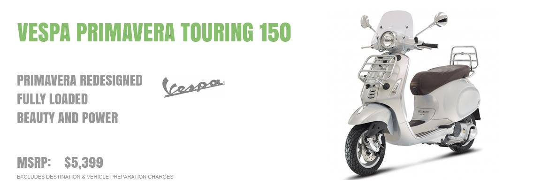 2016 Vespa Primavera Touring 150 3v