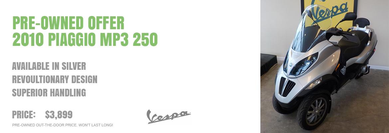 2010 Piaggio MP3 250