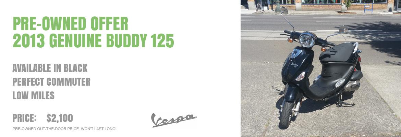 2013 Genuine Buddy 125