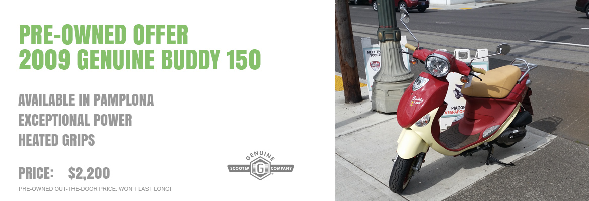 2009 Genuine Buddy 150