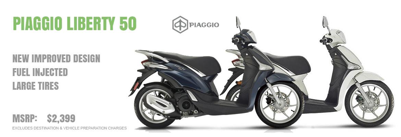 2018 Piaggio Liberty 50