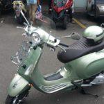 Vespa Portofino Green