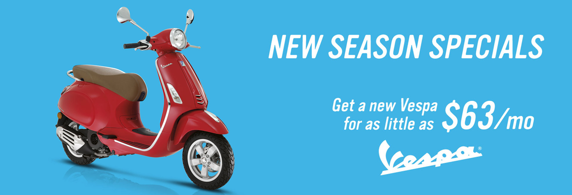 Vespa New Year Financing