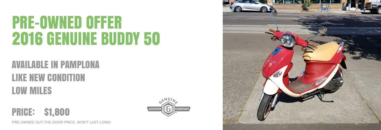 2016 Genuine Buddy 50