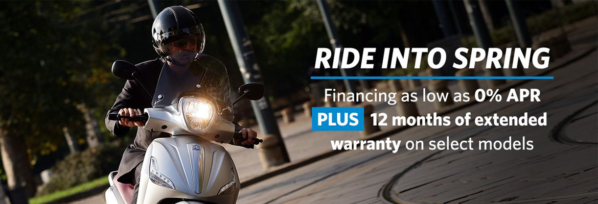 Ride into Spring with Piaggio