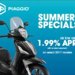 2017 Piaggio Summer Specials