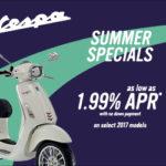 2017 Vespa Summer Specials