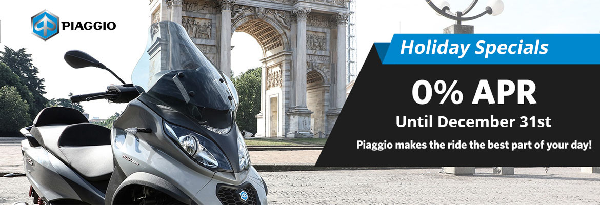 Piaggio Holiday Promotion