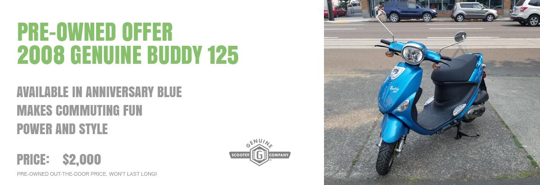 2008 Genuine Buddy 125
