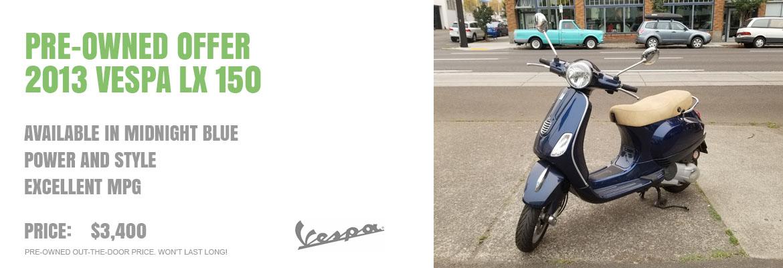 2013 Vespa LX 150