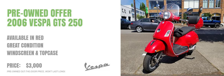 2006 Vespa GTS 250