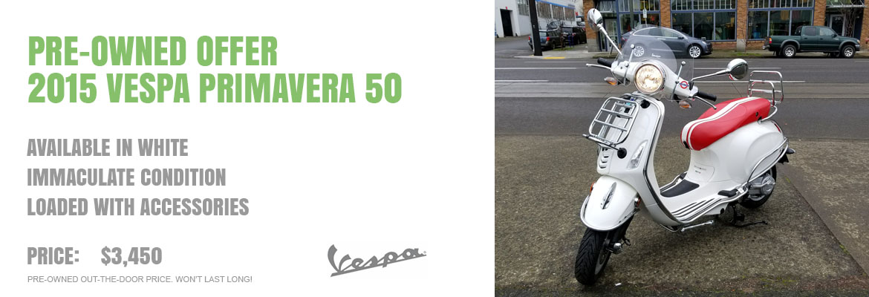 2015 Vespa Primavera 50
