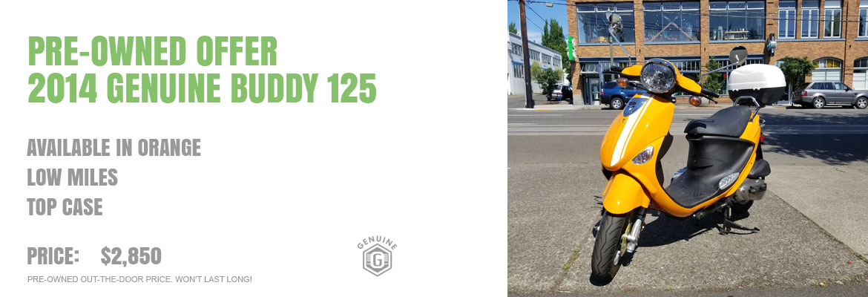 2014 Genuine Buddy 125