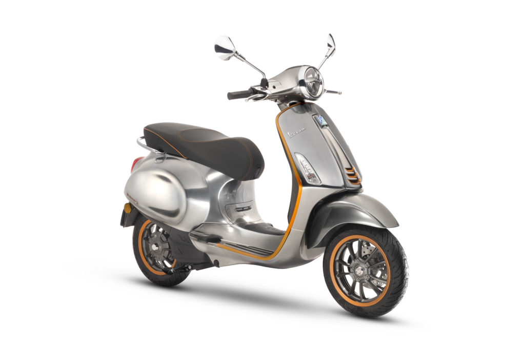 vespa elettrica will also be available in the x version at some point  during the year 2019, with a range of almost 200