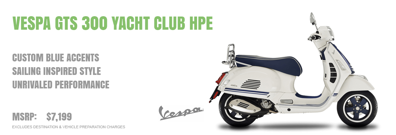 2020 Vespa GTS 300 Yacht Club HPE