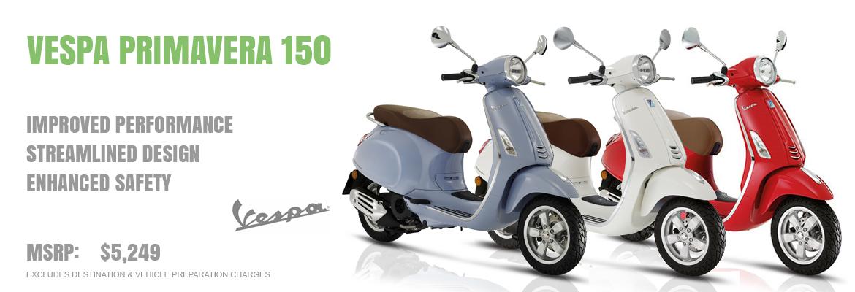 2019 Vespa Primavera 150