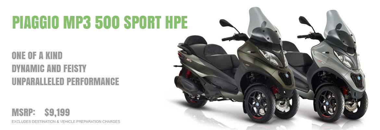 2019 Piaggio MP3 Sport 500 HPE ie