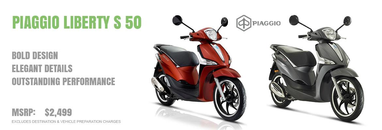2019 Piaggio Liberty S 50 ie