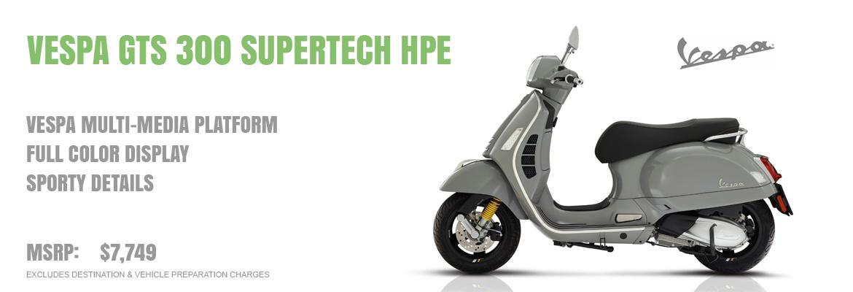 2020 Vespa GTS 300 Supertech HPE