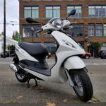 2019 Piaggio Fly 150 with riding accessories
