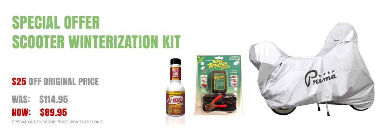 Scooter Winterization Kit