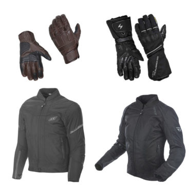 Jackets and Gloves